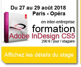 formation indesign paris